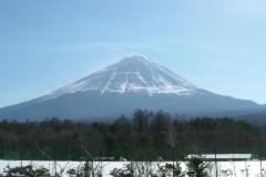 道の駅なるさわからの富士