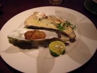 牡蠣のオーブン焼