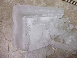 冷蔵庫の中の氷河