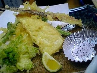 春野菜の天ぷら