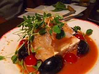 さっぱり豆腐と花咲くらげの中華サラダ