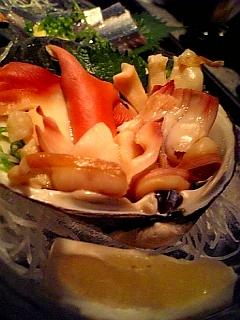 つぶ貝(炙り)