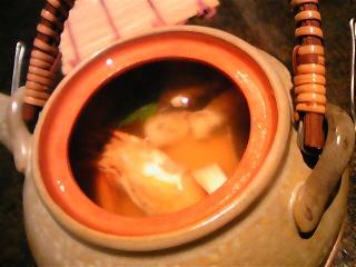 マツタケと鱧の土瓶蒸し