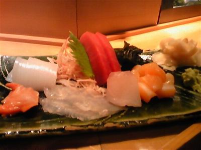 マグロ、ヒラメ、イカ、赤貝、貝柱、スズキ