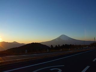 箱根スカイラインからの富士