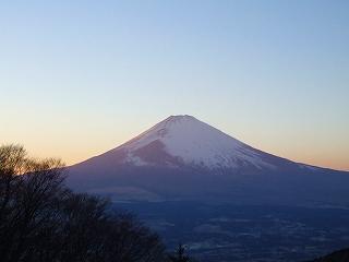 芦ノ湖スカイラインからの富士