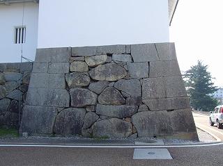 櫓の石組み