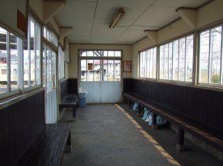 近江鉄道 高宮駅待合室