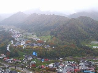 山寺の町並み