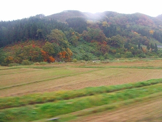 陸羽東線沿線風景