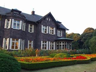 旧古河庭園の洋館1