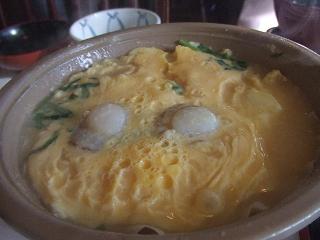 ホタテの卵とじ