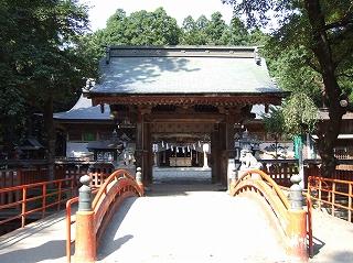 櫛引神社(神門)
