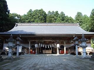 櫛引神社(拝殿)