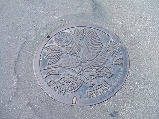 横瀬町のマンホール