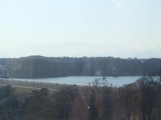 多摩湖方面