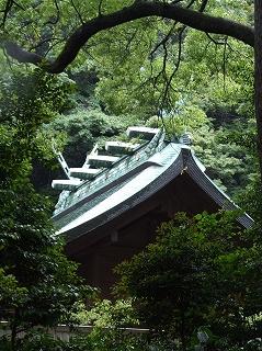 鎌倉宮本殿