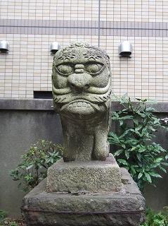 承教寺の狛犬