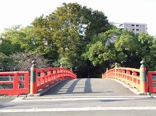荏原神社 鎮守橋