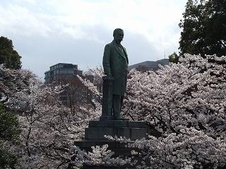 千鳥ヶ淵 品川弥二郎像