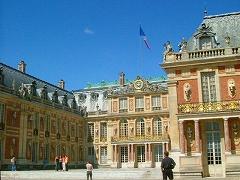 ベルサイユ宮殿正面